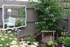 Znalezione obrazy dla zapytania pomysly z lustrem w ogrodzie