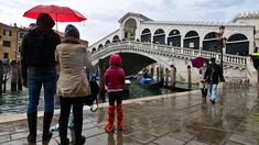 Venice holds back the water for first time in 1,200 years Climate Change Meaning, Climate Change Effects, Flood Barrier, Key Biscayne, Chicago River, Adriatic Sea, Great White Shark, City Streets, Italia