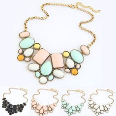 Collar 2017 Collier Femme Colar Vintage Statement Fashion Necklace for Women Mujer Jewelry Choker Necklace & Pendant Accessories