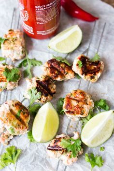 Hot and spicy Thai fish cakes - so simple but packed FULL of flavour.