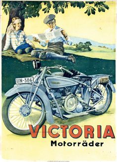 1927 Victoria Motorräder