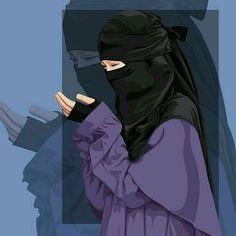 Cartoon Girl Images, Love Cartoon Couple, Cartoon Pics, Girl Cartoon, Cartoon Art, Arab Girls Hijab, Muslim Girls, Muslim Couples, Anime Muslim