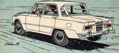 Auto's uit mijn jeugd.