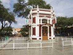 Cape Verde - Unusual Kiosk, Parca Nova