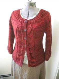 Lillian Fay by Ellen Mason. Cast on 9/11/12 using Jo Sharpe Silkroad Tweed!