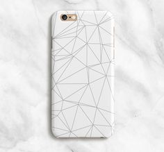 HOLIDAY SHIPPING INFO!>> YOU MUST PLACE ORDERS BEFORE DEC 11TH FOR CHRISTMAS DELIVERY!  ***PLEASE READ LISTING - ALL CASES SHIP WITHIN 3 TO 5 *BUSINESS* DAYS!***  View all of LovelyCaseCo's cases here: LovelyCaseCo.Etsy.com  ///Geometric iPhone Case  Put some fun into your everyday routine with a LovelyCaseCo case! LovelyCaseCo cases are pretty little works of art to drape around your phone which, if youre like me, is your most prized possession. Each case is made to order with a 3D dye…