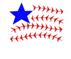 Baseball American Flag SVG or Silhouette Instant Download by MandaNoelle on Etsy https://www.etsy.com/listing/237334445/baseball-american-flag-svg-or-silhouette