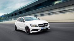 2014 Mercedes-Benz A45 AMG HD Wallpapers