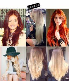 Cortes de cabelo: longos