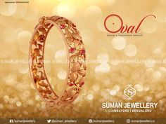 This beautifully hand crafted bangle designed by skilled craftsmen in exclusive design, specially for you!   #suman_jewellery #bangle #gold #designs #beauty #fashion