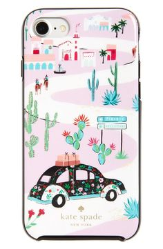 kate spade new york road trip iPhone 7 & 7 Plus case
