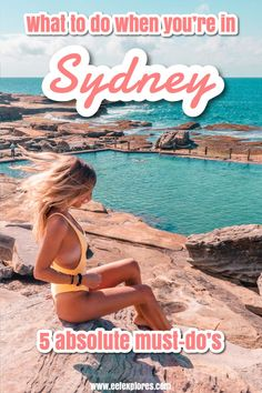If you're traveling around Australia and wondering what to do when you're in Sydney, there are a number of absolute must-do's. I listed the 5 best ones for you :) Beautiful Ocean, Most Beautiful Beaches, Beautiful Places, Visit Australia, Australia Travel, Luna Park Sydney, Visit Sydney, Bondi Beach, Going On Holiday