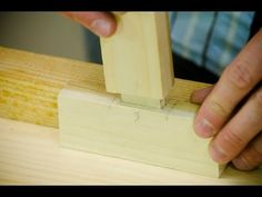 VIDEO: How to Make Mortise and Tenon Joints with Hand Tools (WoodAndShop.com)