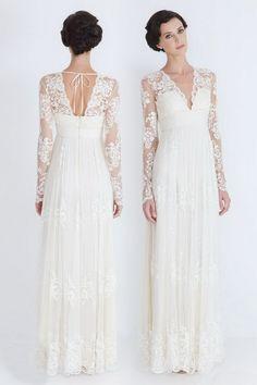 skromna-prosta-koronkowa-sukienka-ślubna-2013-z-rękawami.jpg 550×825 pixels