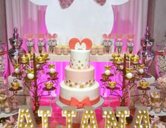 Minnie Mouse 1st Birthday party for Aliana - Minnie Mouse