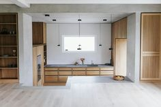 Kitchen renovation project in Swiss Farmhouse Modern Kitchen Interiors, Home Decor Kitchen, Kitchen Ideas, Modern Kitchens, Made To Measure Furniture, Handleless Kitchen, Best Kitchen Designs, Bespoke Kitchens, Wooden Kitchen
