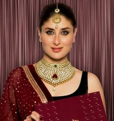 karina kapoor in indian bridal fashion jewelry style