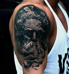 80 Zeus Tattoo Designs For Men