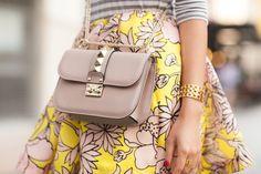 Summer Florals :: Soft stripes