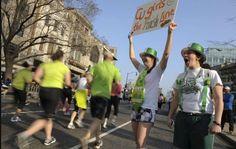 Washington Post. Best media on Boston marathon I've seen yet. Losing faith in humanity? Watch a marathon.