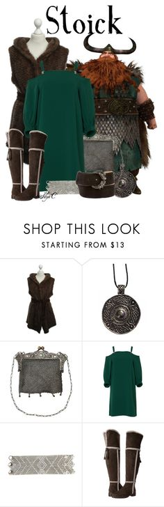 """""""Stoick the Vast - Dreamworks How to Train Your Dragon"""" by rubytyra ❤ liked on Polyvore featuring TIBI, Urbiana, Frye and Roberto Cavalli"""
