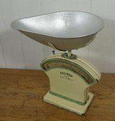 Vintage 1940's Salter scales