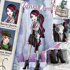 A imagem pode conter: uma ou mais pessoas Ever After High Rebels, Character Art, Character Design, Personajes Monster High, Ever After Dolls, Monster High Art, Disney Princess Fashion, Cartoon As Anime, Raven Queen