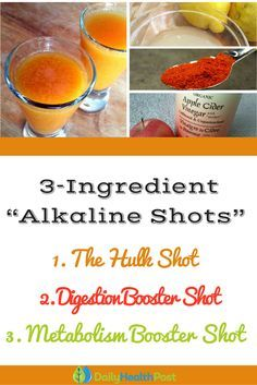 Instead of drinking coffee to start your day, why not alkalize your body with detox shots! The consumption of high alkaline drinks immediately after you wake up will help balance out your pH levels.  Detox shots are easy, quick, and effective at revitalizing your whole system. They'll jumpstart your metabolism naturally and get you off to a great start in the morning.