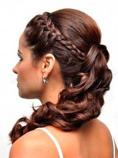 Peinados De Trenzas Para Fiestas De Noche Peinados Fashion