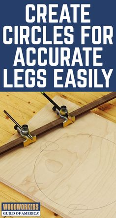 Have you ever wondered how to make a three legged stool so that the leg spacing is perfectly even? As part of teaching you how to make a three legged stool, George shares a simple foolproof method for dividing a circle into three or six even increments, which gives you the fundamental skill needed for proper leg placement. When laying out a stool or any other project that requires even spacing around the circumference of a circle, many woodworkers have become intimidated and frustrated.