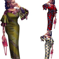 When it's important to be yourself and stay sophisticated, go for this absolutely stunning African kitenge wear that can be accessorized to show off your awesome innovation. Listed in our African print dresses assortments, they are available in 100% cotton - the ultimate everyday, African traditional cool and hardworki