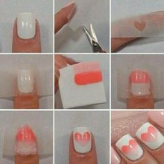 step by step nail art!
