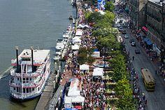 River Street in Savannah