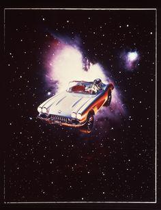 Like A Rock Star: 12 Iconic Movie Corvettes Heavy Metal 1981, Heavy Metal Movie, Heavy Metal Art, Iconic Movies, Sci Fi Movies, Classic Movies, Cyberpunk, Astronaut Tattoo, Star Wars