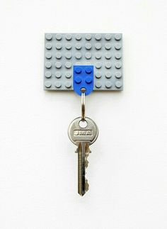 Lego key chain and holder so smart