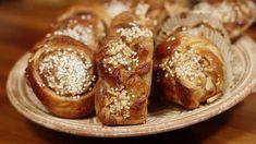 Kanelbullar på tre sätt - Recept - Stowr Royal Icing, Cinnamon Rolls, French Toast, Bread, Cookies, Breakfast, Cake, Sweet, Food