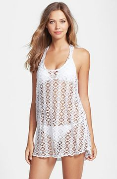 I just ordered this!!! Steve Madden Crochet Cover-Up available at #Nordstrom #swimwear