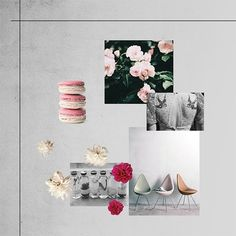 Essences, Sweeties, Flowers, Lace and Art. That's our mood for May