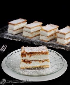 Érdekel a receptje? Kattints a képre! Küldte: KGizi Hungarian Cake, Hungarian Recipes, Cookie Recipes, Dessert Recipes, Sweet And Salty, Sweet Desserts, No Bake Cake, Tiramisu, Lemon