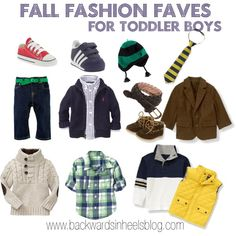 Fall fashion faves - toddler boys by cmburke, via Polyvore
