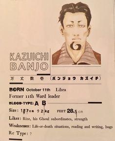 Kazuichi Banjo - Tokyo Ghoul
