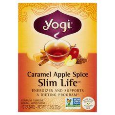 Yogi Teas Cinnamon Vanilla Healthy Skin Tea - 16 Tea Bags - Case of 6 Spiced Apples, Caramel Apples, Black Tea Leaves, Probiotic Foods, Ayurvedic Herbs, Ayurveda, Tea Blends, Healthy Skin, Healthy Eating