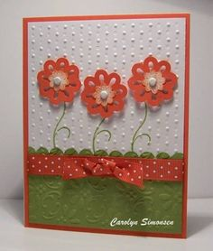 Cottage Garden - Stampin Up su-cards