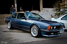 BMW E24 M635 CSi.  If you don't wear a suit when you drive this car then you're doing it wrong.