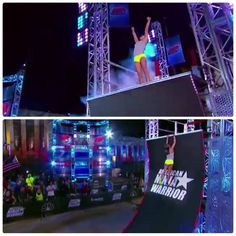 Former NCAA Gymnast Makes History on American Ninja Warrior. - News - Bubblews