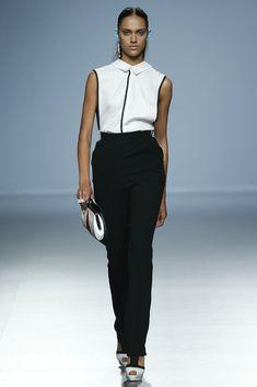 Davidelfin - Primavera-verano 2015 - Mercedes Benz Fashion Week Madrid