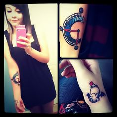 Damn. Final Fantasy 3 AND Chrono Trigger tats? Who is this chick?!