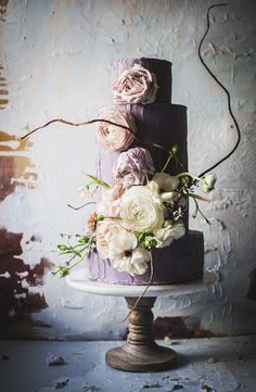 Boho wedding cake | Say It With a Cake! | say_it_with _a_cake
