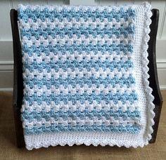Crochet bebé Manta Manta bebé niño regalo manta/ducha