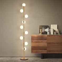 Cheap Floor Lamps, Unique Floor Lamps, Led Floor Lamp, Modern Lamps, Contemporary Floor Lamps, Modern Lighting, Lighting Design, Modern Bedroom Lighting, Tall Floor Lamps